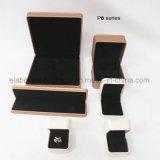 La insignia de lujo imprimió el rectángulo de madera de cuero modificado para requisitos particulares de la PU