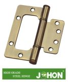 Steel gold Iron Flush Door Hinge (100X75mm Sub-mother (butterfly) hardware)