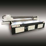 8 Impresora plana UV para vidrio / metal / granito / mármol con color blanco
