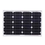 panneau solaire de silicium monocristallin de 18V 40W