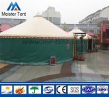 frame de alumínio luxuoso Yurt Mongolian do diâmetro de 4-8m para a vida do hotel