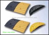 Het rubber Product Gw8001 van de Verkeersveiligheid van de Bult van de Snelheid Gele en Zwarte
