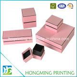 Коробка ювелирных изделий по-разному размеров роскоши изготовленный на заказ при напечатанный логос