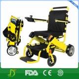2016 cadeiras de rodas elétricas portáteis de dobramento com bateria de lítio