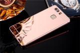 Caja del teléfono del espejo del metal para Huawei P9/P9 Lite