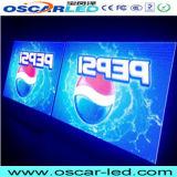 Visualizzazione di LED programmabile di fusione sotto pressione esterna del Governo di colore completo dell'affitto P10