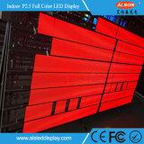 Écran à LED fixé intérieur P2.5mm avec FCC