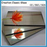Het dubbel bedekte het Zilveren Glas van de Spiegel voor de Spiegel van de Muur/de Spiegel van de Decoratie met een laag