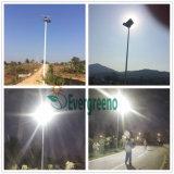 Lichter des quadratische Spalte-Solargarten-LED