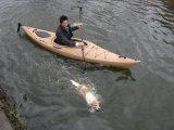la venatura del legno di plastica 3.44mtrs singola si siede nella visita del kajak