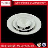 Ventilation Return Air Round Diffuseur de plafond Climatisation en aluminium