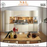 Gabinete de cozinha de madeira resistente do folheado de China da água do modelo 2017 novo