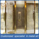 De aangepaste Verdeler van de Zaal van het Roestvrij staal van de Besnoeiing van de Laser van het Brons voor Hotel/Restaurant