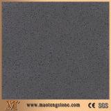 최신 판매 최고 질 어두운 회색 석영 돌 순수한 색깔 시리즈
