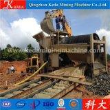 Hohes Effciency bewegliches Seifenerz-Goldförderung-Gerät mit Patenten (1-500t/h)