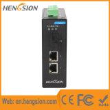 2 1 do Ethernet da fibra interruptor industrial controlado portuário do Ethernet e