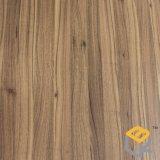 Papel decorativo del grano de madera de la teca para los muebles