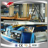 Kohlenstoffstahl-rundes Rohr-Rohr galvanisiert mit Zink-Beschichtung 30-200G/M2
