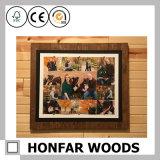 人の洞窟の壁の芸術の装飾のための木製の写真フレーム