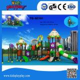 Karikatur-Serien-Plastikim freienspielplatz-gesetzte Kinder 2016