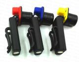 자석 기초 (HL-15YM01)를 가진 급상승 LED 플래쉬 등에 클립