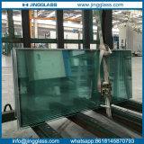 Argon de gas llenado de vidrio laminado doble acristalamiento para muro cortina