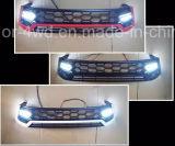 Voor Traliewerk voor Toyota Hilux Revo met LEIDEN Licht