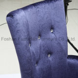贅沢なデザイン穏かなビロードの居間の椅子