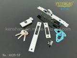 Blocage en aluminium de crochet de porte de type de Zl-41055-St avec la plaque de face