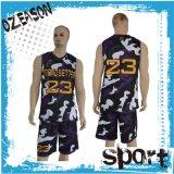 OEM van de Sublimatie van het Ontwerp van de douane Reeks van Jersey van het Team van het Basketbal van Vrouwen de Eenvormige