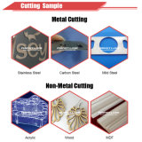 1.5mm Stahlhölzerne Eisen-Metall-CO2 Laser-Ausschnitt-acrylsauermaschine