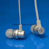 trasduttore auricolare stereo collegato metallo professionale di musica piccolo con cavo piano