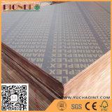 La construcción de edificios utilizó la madera contrachapada hecha frente película del precio bajo para Dubia