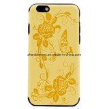 Móvil/cubierta de cuero Textured electrónicos del teléfono celular para el iPhone 6s/6s más, 7/7plus