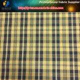 Tissu teinté en fil de polyester avec fil réfléchissant pour veste