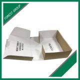 Casella di carta ondulata ondulata del Kraft della scanalatura pieghevole del fornitore