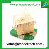 유행 Customed 모양을%s 가진 아름다운 민감한 주문을 받아서 만들어진 리본 종이 마분지 선물 상자