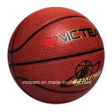 Nuevo baloncesto desinflado modificado para requisitos particulares superior de la talla 5 oficiales