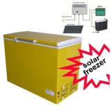 Congélateur de poitrine d'énergie solaire des tailles importantes 308L