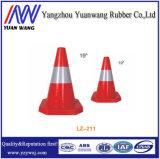 Conos plegables de la seguridad en carretera del pequeño tráfico 710m m