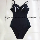 女性または女性のワンピースの水着のための印刷の水着浜の摩耗Monokini