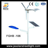 Hohe Leistungsfähigkeits-Wind-Solarhybrides Straßenlaterneumweltsmäßig 60 Watt-Energie
