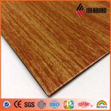 木製のPE PVDFのコーティングの表面Fr (B1、A2等級の耐火性にしなさい) ACP
