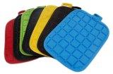Algodão de sete cores & jogo de duas partes das luvas do agregado familiar da borracha