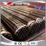 Tubo saldato ERW del acciaio al carbonio Sch40 per la consegna liquida e la costruzione di pressione bassa
