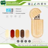 Логос Pendrive естественного деревянного привода вспышки USB изготовленный на заказ