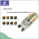 Éclairage LED chaud d'ampoule de silicium de capsule de la vente 3W 220V G9