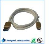 비용을 부과 데이터 USB 3.0 3.1 유형에 남성 C 케이블