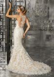 2017標準的で、優雅な花嫁のウェディングドレスmm003