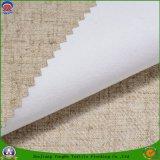 Poliester tejido materia textil casera cubierto con la tela impermeable de la cortina del apagón del PVC franco